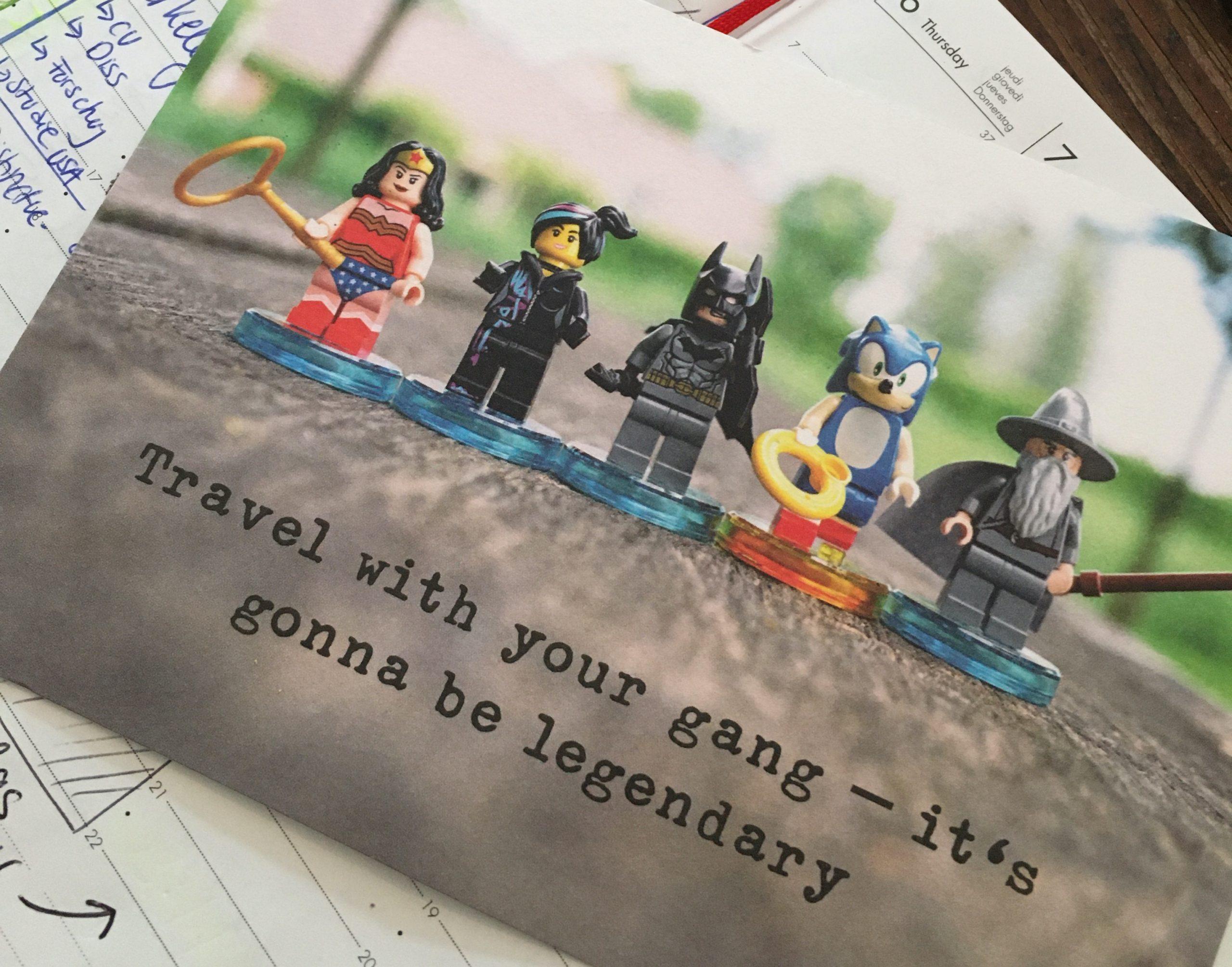Lego-Superheld:innen
